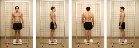 postura do cliente de fisioterapia e pilates
