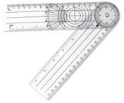Goniómetro para avaliação postural
