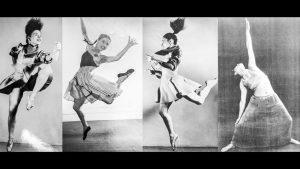 Eve Gentry dançando