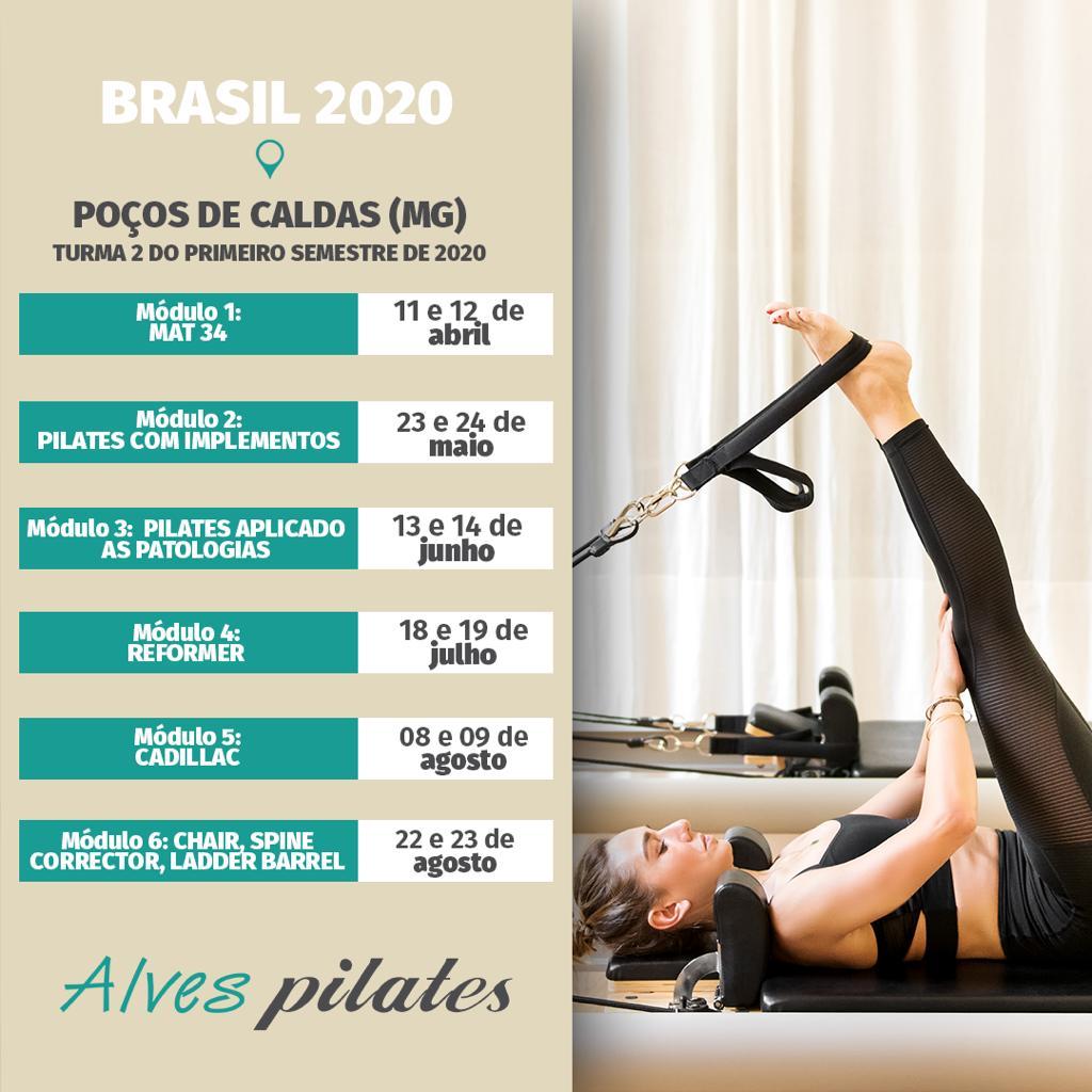 Curso Pilates Poços de Caldas Turma 2