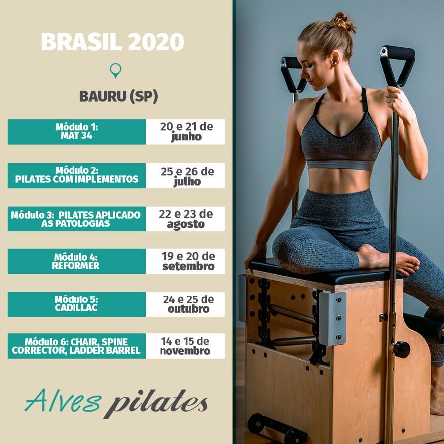 curso pilates 2020 taubaté e taquaritinga
