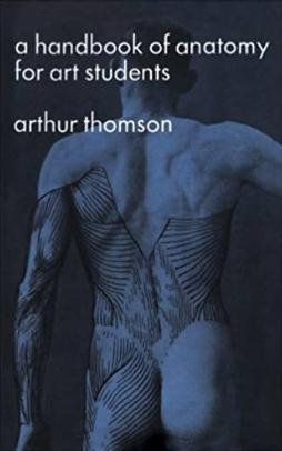 Capa do livro A handbook of anatomy for art students