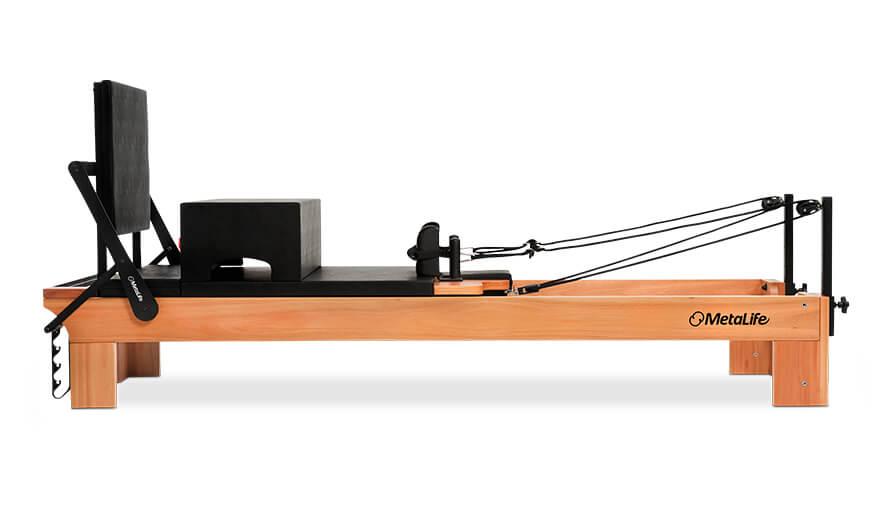 Reformer Pilates, uma das máquinas mais conhecidas de pilates