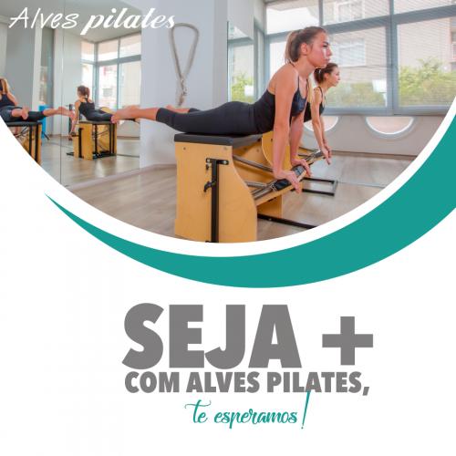 Seja mais com Alves Pilates
