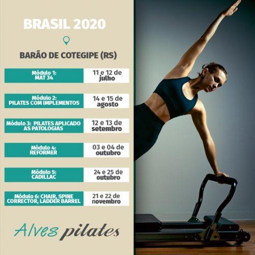 Formação pilates Barão de Cotegipe