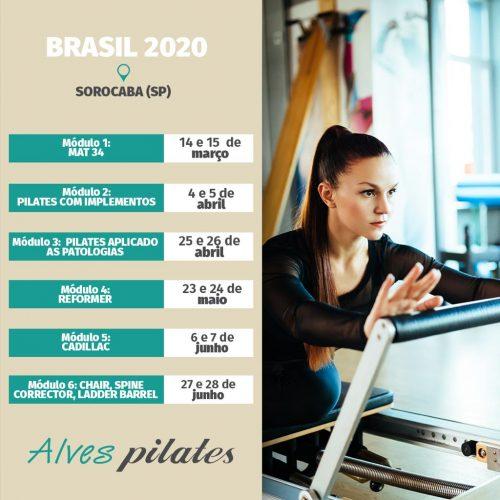 Curso Pilates Sorocaba 2020