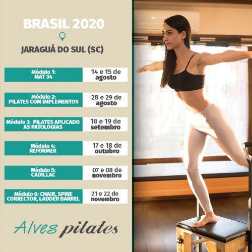 Curso pilates Formação Jaraguá do Sul