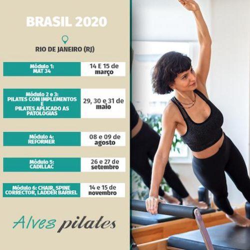 Formação pilates Rio deJaneiro