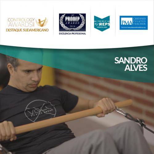 Sandro Alves e seus prêmios