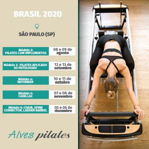 Formação Alves pilates São Paulo