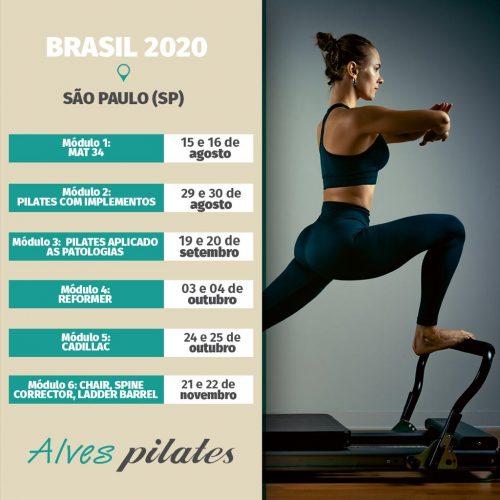 2020 Formação pilates São Paulo turma 2