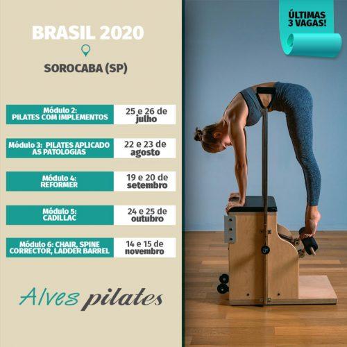 Formação pilates Sorocaba