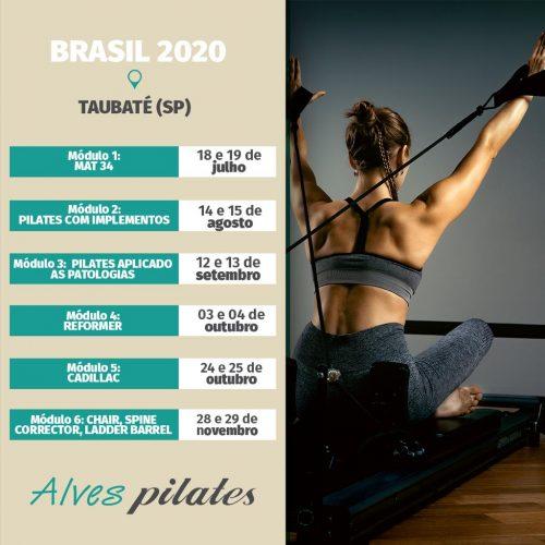 2020 Formação pilates Taubaté